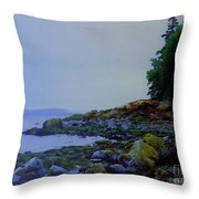 Eve At The Mount Throw Pillow