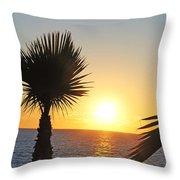 Eve Sun Throw Pillow