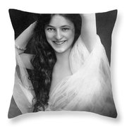 Evelyn Nesbit (1885-1967) Throw Pillow