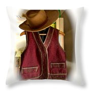 Even Cowgirls Get The Blues Throw Pillow