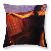 Even Though Throw Pillow