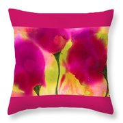 Pink Dreams Throw Pillow