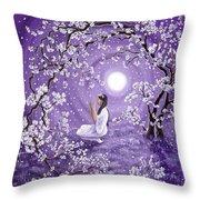 Evening Blessing Throw Pillow