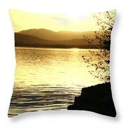 Evening Charlotte Sunset Throw Pillow