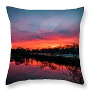 Evening Commute Throw Pillow