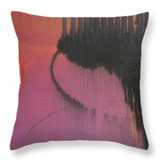 Evening Conversation Throw Pillow