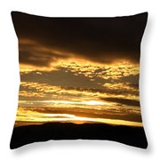 Evening Grandeur Throw Pillow