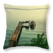 Evening In Charlotte Throw Pillow