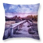 Evening Invitation Throw Pillow