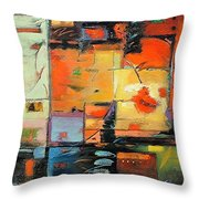 Evening Light Throw Pillow