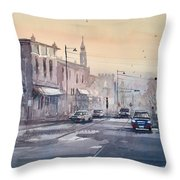 Evening Light In Appleton Throw Pillow