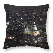 Evening London Throw Pillow