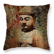 Evening Meditation Throw Pillow by Christopher Beikmann