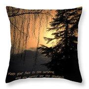 Evening Mood Throw Pillow