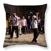Evening Prayer Throw Pillow