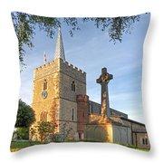 Evening Prayers Throw Pillow