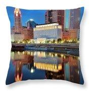 Evening Reflections Throw Pillow