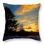 Evening Rising 2 Throw Pillow