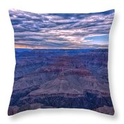 Evening Show Throw Pillow