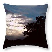 Evening Sky 1 Throw Pillow