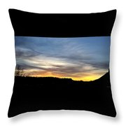 Evening Sky 1 Throw Pillow
