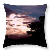 Evening Sky 2 Throw Pillow