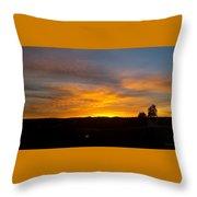 Evening Sky 3 Throw Pillow