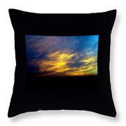 Evening Sky 5 Throw Pillow