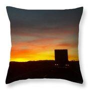 Evening Sky 8 Throw Pillow