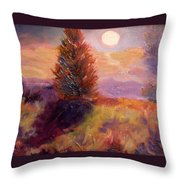 Evening Splendor Throw Pillow