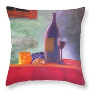Evening Table Throw Pillow