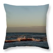 Evening Tide Throw Pillow