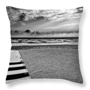 Evening Tide Throw Pillow