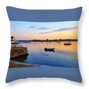 Evening Tranquility Throw Pillow