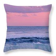 Evening Waves 2 - Jersey Shore Throw Pillow
