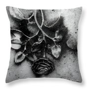 Everblooming Throw Pillow