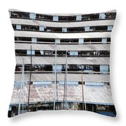 Everett Boathouse Throw Pillow