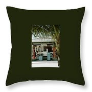 Everglade City II Throw Pillow