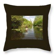 Everglades Beauty One Throw Pillow