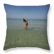 Everglades City 933 Throw Pillow