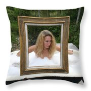 Everglades City Beauty 385 Throw Pillow