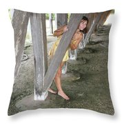 Everglades City Beauty 534 Throw Pillow