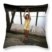 Everglades City Beauty 552 Throw Pillow