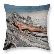 Everglades City Beauty 627 Throw Pillow