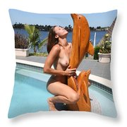 Everglades City Fl. Professional Photographer 349 Throw Pillow