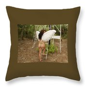 Everglades City Fl. Professional Photographer 4195 Throw Pillow