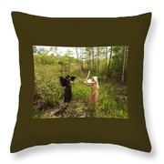 Everglades City Glamour 146 Throw Pillow