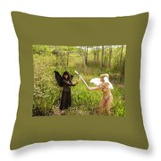 Everglades City Glamour 147 Throw Pillow