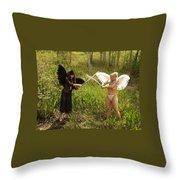 Everglades City Glamour 150 Throw Pillow