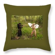Everglades City Glamour 151 Throw Pillow